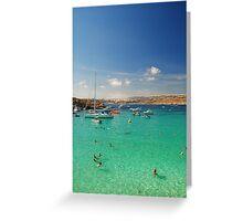 Comino, Malta Greeting Card