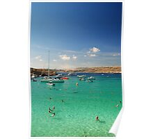 Comino, Malta Poster
