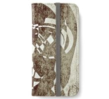 Abstract Sepia  iPhone Wallet/Case/Skin