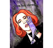 "Scully ""Sure.Fine.Whatever."" Photographic Print"