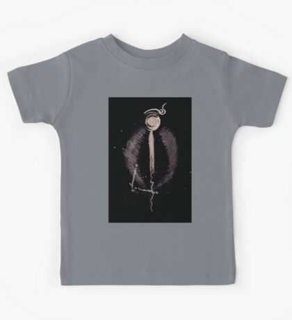 0073 - Brush and Ink - Halide_ Kids Tee