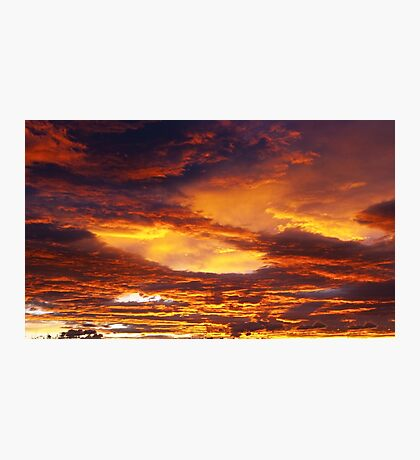 Cloudy sky in the morning Photographic Print