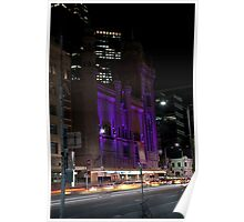 Melbourne at night 08 [r] Poster