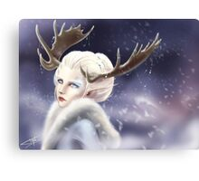 Ice elven Canvas Print