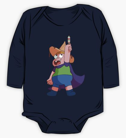 Clarence, Wielder of 31 Flavors One Piece - Long Sleeve