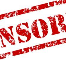 The Classic 'Censored' Sticker