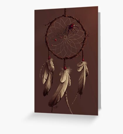 Poisoned dreams Greeting Card