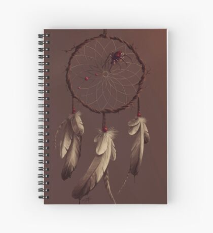 Poisoned dreams Spiral Notebook