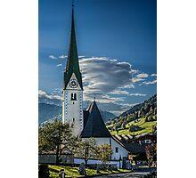 Niederau Village Church Photographic Print