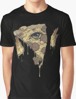 P1ZZA FACE Graphic T-Shirt