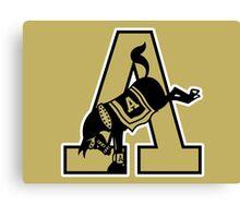 Army Mules Logo Canvas Print