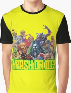 Thrash Metal - Thrash Or Die T-Shirt Graphic T-Shirt