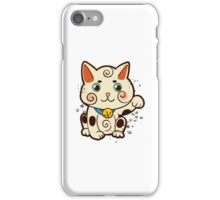 Lucky Japanese cat Maneki-neko. Traditional mascot  iPhone Case/Skin