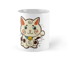 Lucky Japanese cat Maneki-neko. Traditional mascot  Mug