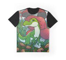 Yoshi of the Mushroom Kingdom Graphic T-Shirt