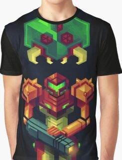 Metroid Graphic T-Shirt