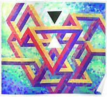 Trixel Maze Poster