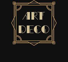 Art Deco T Shirt Womens Fitted T-Shirt