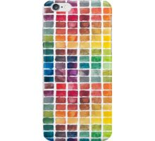 Watercolor Color Squares iPhone Case/Skin