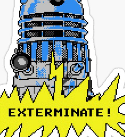 Time And Relative Pixels: Dalek Sticker