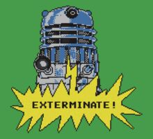 Time And Relative Pixels: Dalek Baby Tee