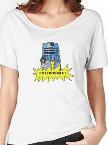 Time And Relative Pixels: Dalek Women's Relaxed Fit T-Shirt