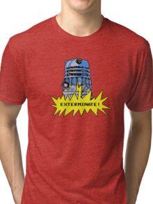 Time And Relative Pixels: Dalek Tri-blend T-Shirt