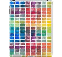 Watercolor Color Squares iPad Case/Skin