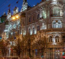 Rostov at night Sticker