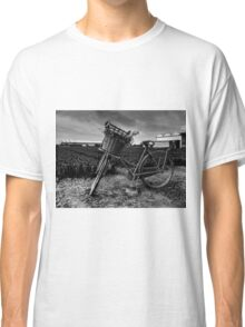 Bicycle At The Tulip Farm Netherlands Classic T-Shirt