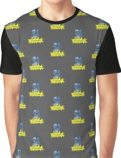 Time And Relative Pixels: Dalek Graphic T-Shirt