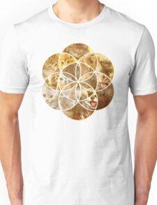 Kitten Geometric collage Unisex T-Shirt