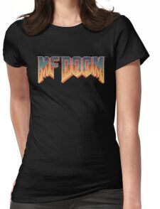 Metal Face Gamer Womens Fitted T-Shirt
