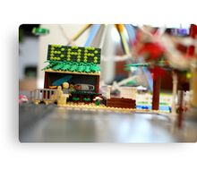 Lego Beach Canvas Print