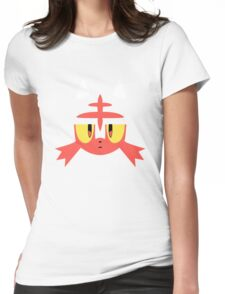 Pokemon Sun / Moon Litten New  Womens Fitted T-Shirt