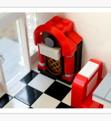 Lego Jukebox Sticker