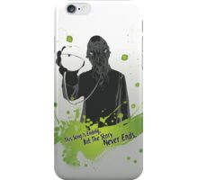 The Story Never Ends iPhone Case/Skin