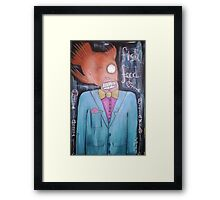 Fish Food Framed Print