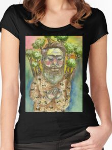 It's The Bee's Trees Women's Fitted Scoop T-Shirt