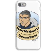 I Lost my Heart to Leonard Snart iPhone Case/Skin