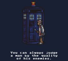 Time And Relative Pixels: Seventh Doctor One Piece - Short Sleeve