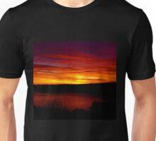 Purple over Hudson Unisex T-Shirt