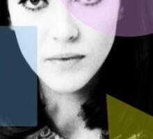 Anna Karina  - French New Wave Sticker