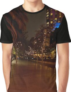 Melbourne at Night 03 [r] Graphic T-Shirt