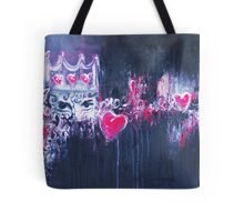 Grunge Princess Square Tote Bag