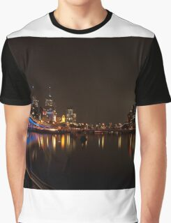 Melbourne by Night  Graphic T-Shirt