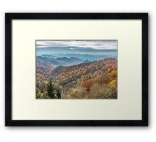 Smoky Mountain Morning Framed Print