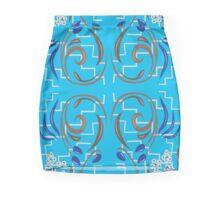 Blue Olives #2 Mini Skirt