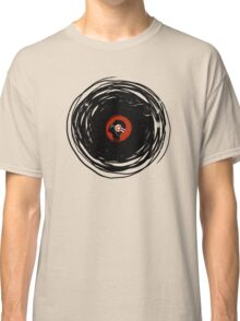 I'm spinning within with a vinyl record... GRUNGE TEXTURE Classic T-Shirt
