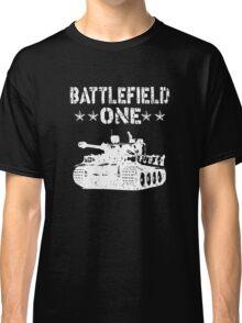 Battlefield one Tanks Classic T-Shirt